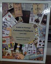 NEW COLEMAN LANTERN ICCC COLLECTORS BOOK