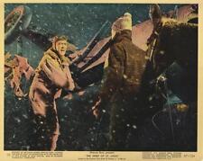"""SPIRIT OF ST. LOUIS""-ORIGINAL PHOTO-COLOR-JAMES STEWART-IN STORM"