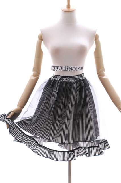 Funky Skirt Harajuku Skater Skirt Kabuki Actor Skirt