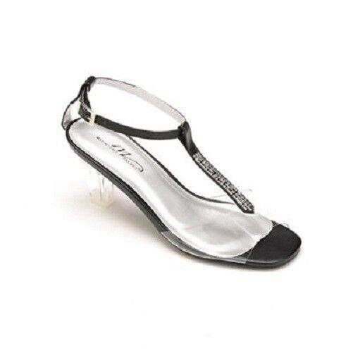 Brand New Women's Marnie Strap Shoe size by Midnight Velvet Black size Shoe 9.5 M 92898f