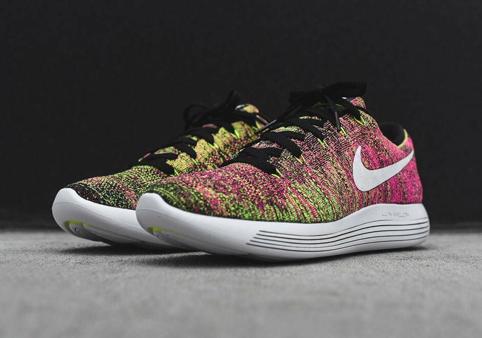 NIKE LUNAREPIC LOW FLYKNIT LOW MULTI-COLOR [844862-999] US MEN SZ 12
