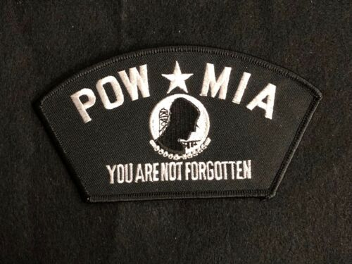 POW MIA Embroidery Patch---017