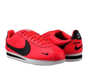 3e96b11ec85 Nike Classic Cortez Premium Red Orbit Men s Running Shoes 807480-601 ...