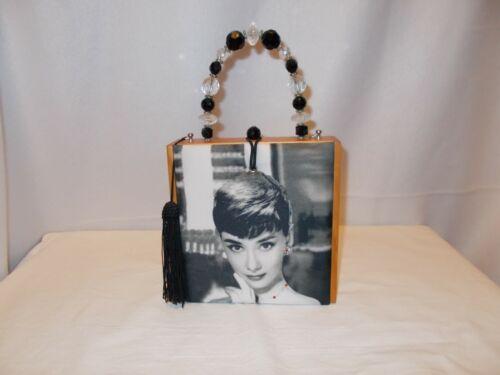 Audrey Hepburn Cigar Box Purse