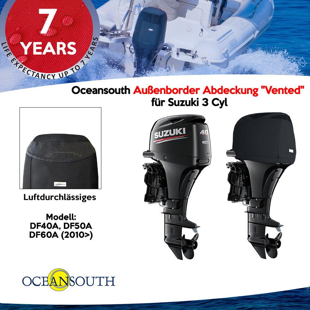 Oceansouth Außenborder Abdeckung  Vented   für Suzuki 3 Cyl