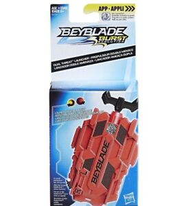 Beyblade-Burst-Evolution-Dual-Threat-Battle-String-Launcher-Hasbro-L-R-Ripper