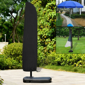 Large-Outdoor-Garden-Parasol-Banana-Cantilever-Umbrella-Patio-Waterproof-Covers