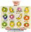 miniature 14 - Neuf Pour Bébé Puzzle Enfants Puzzle Alphabet Lettres Animaux en bois Learning Toys