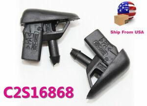 Genuine Jaguar Washer Nozzle C2S16868