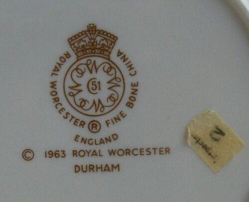 Royal Worcester DURHAM fine bone china bread plate