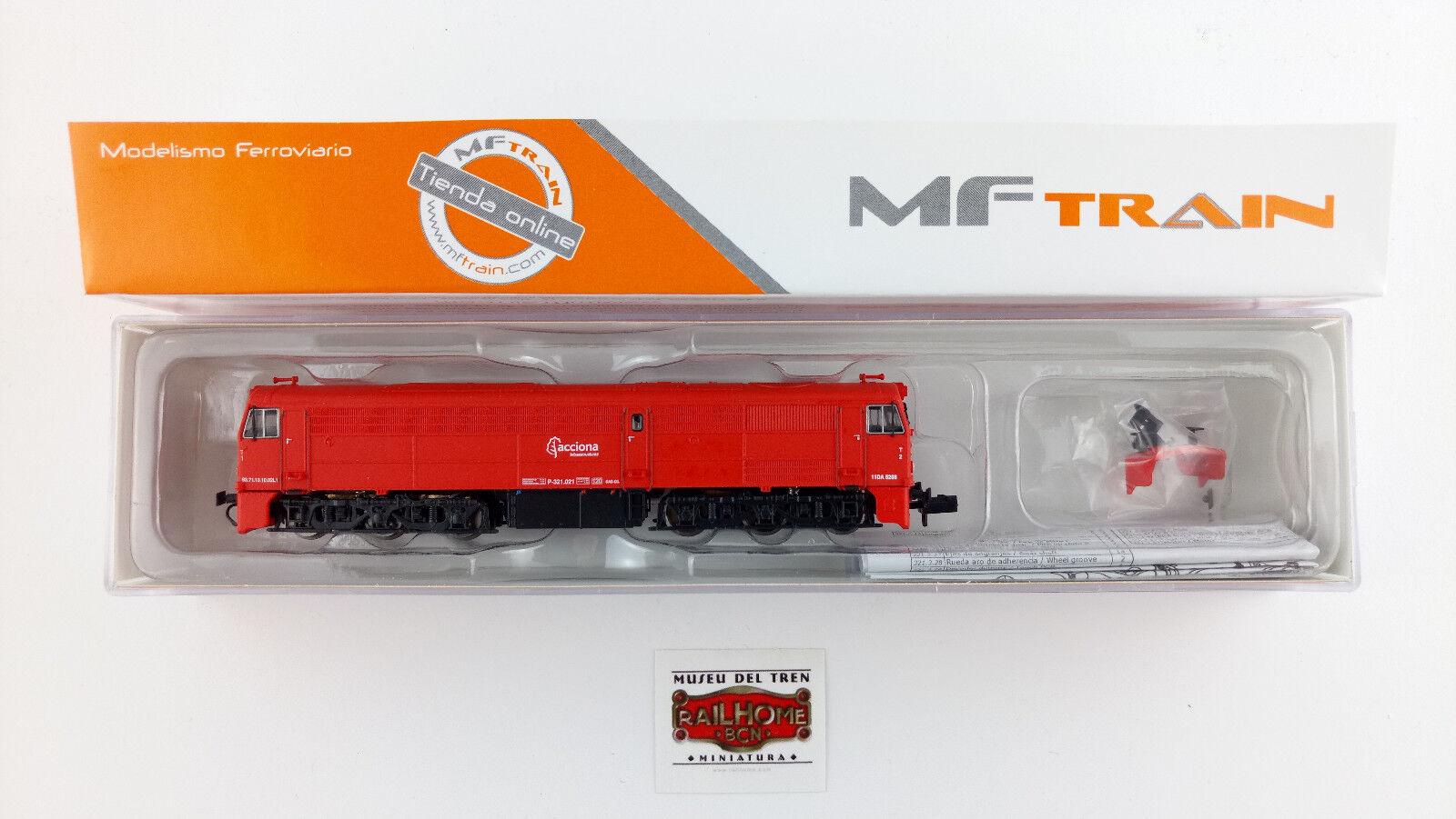 MFTRAIN N13226 - DIESEL-LOK 321-021-1  ACCIONA RED  - - - NEW OVP - TOP 70945e