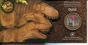 Canada-2010-3D-Moving-Lenticular-50-Cent-Coin-Dinosaur-Daspletosaurus-Torosus