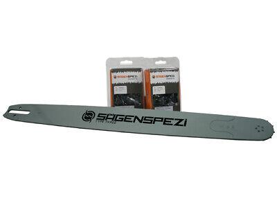 90cm Schwert 3/8 2 Vollmeißelketten Passend Für Stihl Ms661 Ms 661