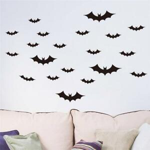 20Pcs-Halloween-Flying-Bats-Wall-Stickers-Room-Decoration-Home-Decor-Mural-Lwx