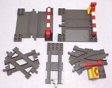 Lego Duplo Train Lot Switch Cross Crossing Track Intelli Eisenbahn Motorized