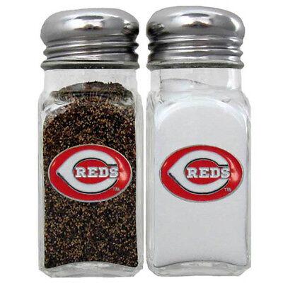 Fanartikel Mlb Husten Heilen Und Auswurf Erleichtern Und Heiserkeit Lindern Sanft Cincinnati Reds Salz & Pfefferstreuer Set