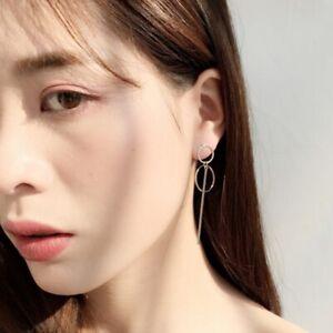 Korean-Double-Circle-Dangling-Earrings-Geometric-BTS-Drop-Earring-Female-Jewelry