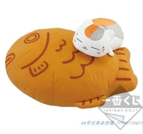 Ichiban Kuji Natsume/'s Book of Friends Nyanko-sensei taiyaki stuffed toy Prize A