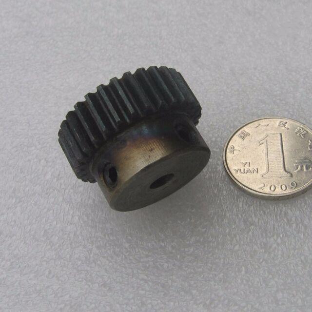 Spur Gears 45 Steel Motor Gears 1 Mod 24T Bore 5/6/6.35/7MM With Jbckscrew