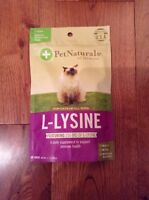 Pet Naturals Of Vermont L-lysine Treats Cats 60 Chews