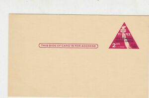 United States Postage 1956 Fipex 2 Cents UNUSED Triangle Stamps Card ref 22238