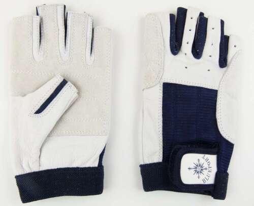 PROFI Rigger Gloves Roadie Handschuhe Gr M 8 fingerlos Leder Rigging Montage