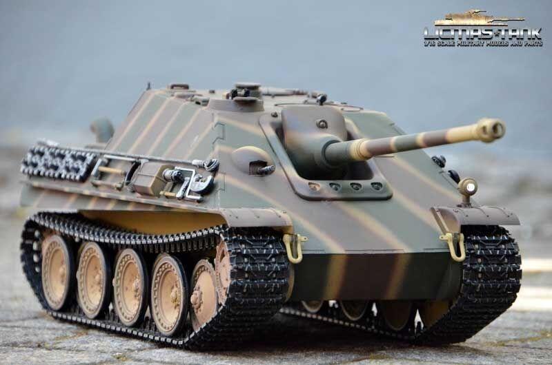 Rc Tank 1 16 Hunt Panther 2.4 Ghz Metal Edition Metal Chain Metallunterwanne