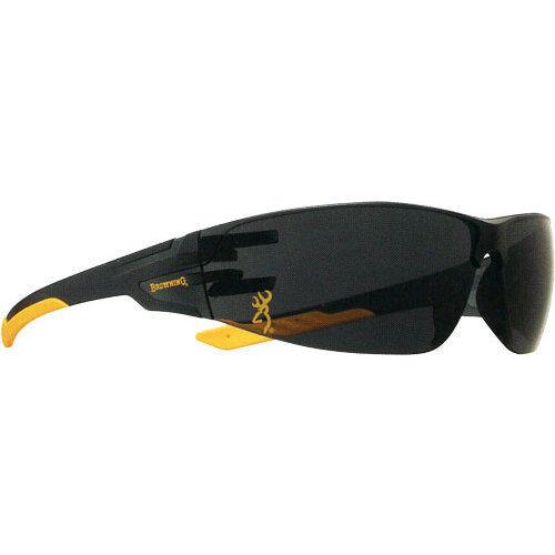 BROWNING 12762 BG SHOOTERS FLEX SHOOTING GLASSES TINTED BLACK/GOLD