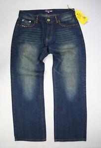 33 Menn Christian Premium Bootcut Rare Størrelse Jeans Audigier FYrYntU
