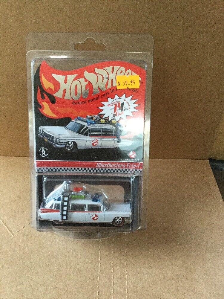 Hot wheels hwc geisterjäger ecto-1 5854   6530 rot line club