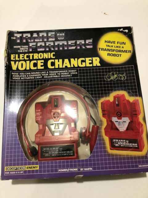 G1 Transformers Electronic Voice Changer MIB