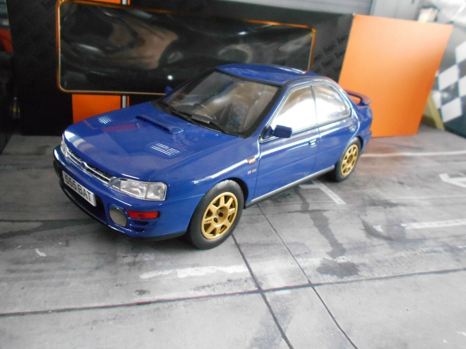 Subaru  Impreza WRX WRC Bleu bleu rue RHD 1995 IXO miniature neuf nouveau 1 18  Nouvelle liste