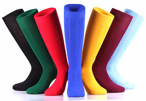 SAMSON® FOOTBALL PLAIN SOCKS RUGBY HOCKEY 1ST CLASS FAST & FREE MENS WOMENS KIDS