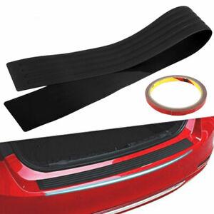 Bota-de-parachoques-posterior-del-coche-tira-de-ajuste-de-la-placa-de-Repisa-Protector-Protector