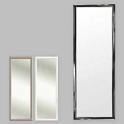 4 Colors Door Mirror Door Mirror Hanging Mirror Frame 35x95cm Black White