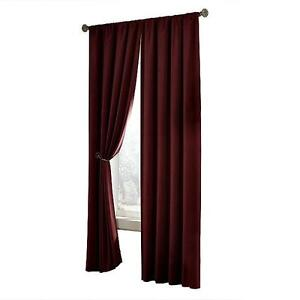 Image Is Loading Maytex Velvet Home Theatre Blackout Panel Window Curtain