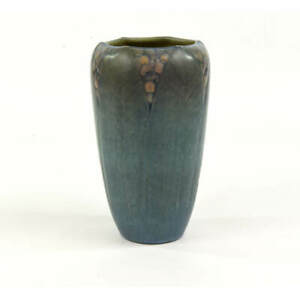 NEWCOMB COLLEGE POTTERY FLORAL DECORATION 1923 IRVINE-MEYER