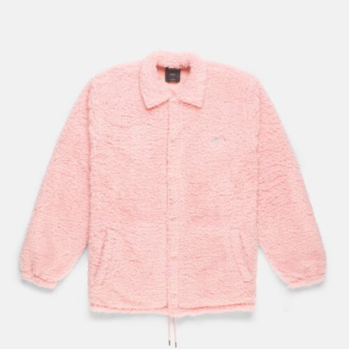 10 Deep Men Poodle Fleece Jacket pink