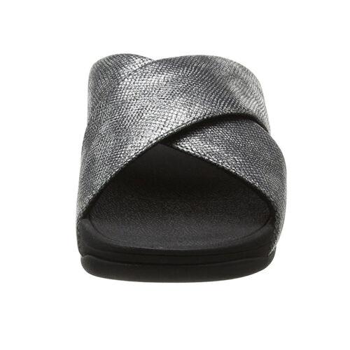 Donna Sandalo Flop Imprim Fit Nero 1Yawq