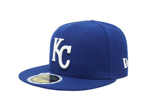 New-Era-59Fifty-Cap-MLB-Kansas-City-Royals-Boys-Kids-Youth-Size-Blue-5950-Hat