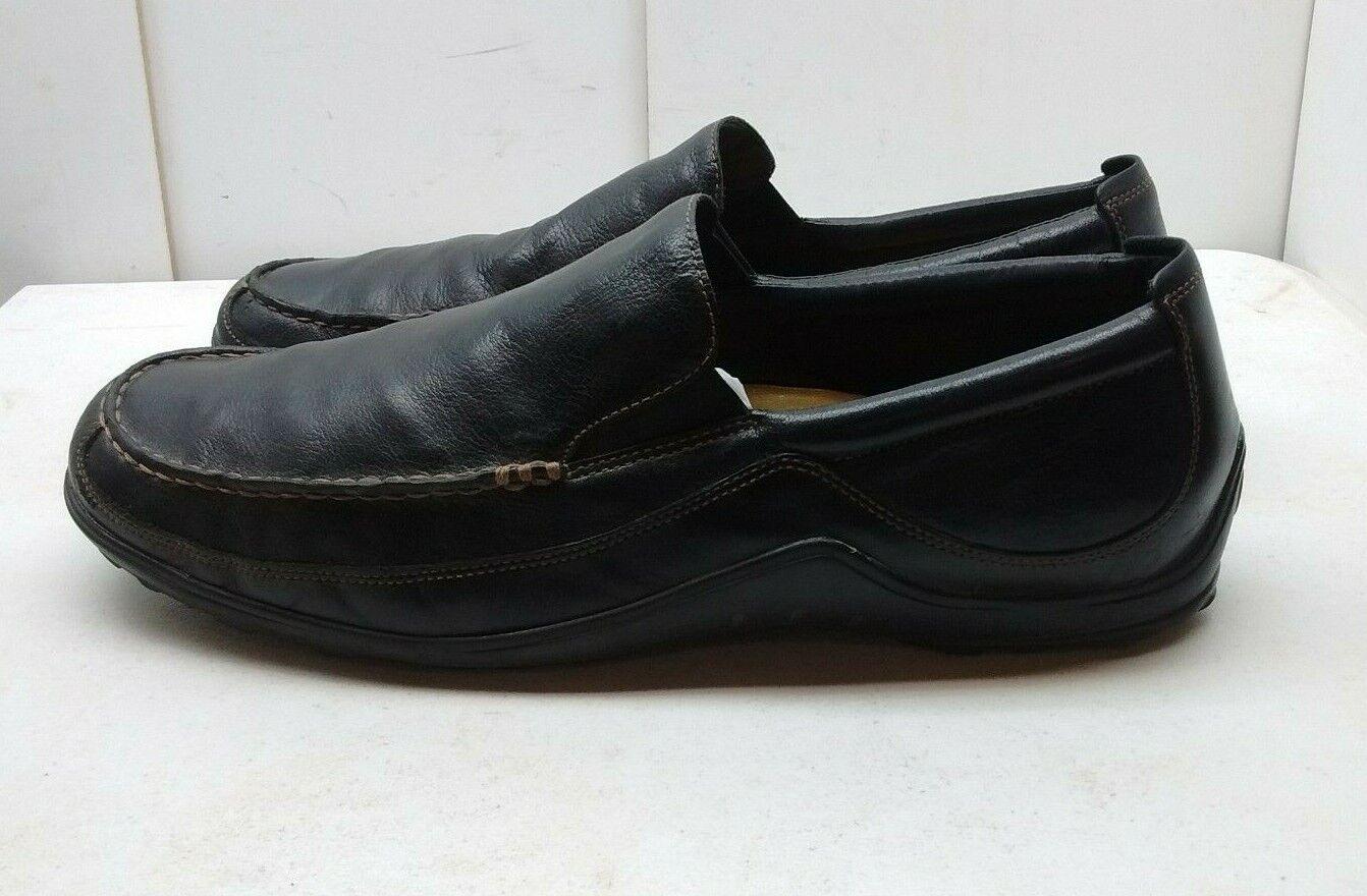 Cole Haan Cuir Marron à Enfiler Mocassin Moc Toe Conduite Mocassin Hommes Chaussures 15 M 49