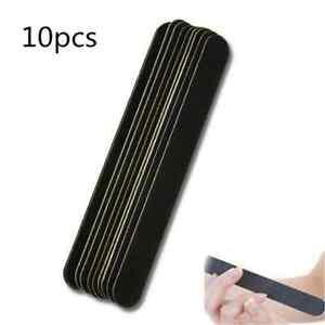 Negro-10X-para-Arte-en-Unas-Bufer-de-archivo-de-lijado-para-Salon-Manicure-UV-Gel-Pulidor