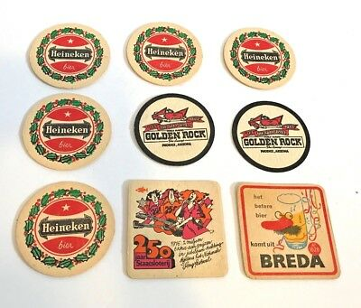 Great Group of 10 What/'ll You Have Pabst Blue Ribbon Beer Coasters