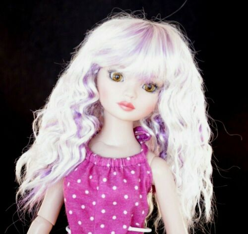 "8-9 Boneka Little darling 10-11 7-8 BJD/'s /& More /""Snow Wig Size 5-6 6-7"