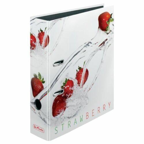 3 X Herlitz Ordnermax.file Fresh Fruit 8,0 cm Ordner Motivordner Aktenordner  !