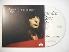 ALEXANDRA ROOS : HUIT DE PIQUE ♦ CD SINGLE PORT GRATUIT ♦