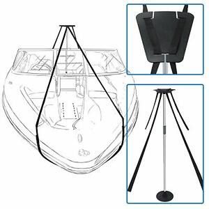 Boat-Cover-Support-Pole-System-Height-Adjustable-Aluminum-Pole-amp-56ft-Long-Strap