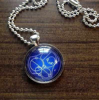 Say I LOVE YOU Gallifreyan Doctor Who Pendant Jewelry Necklace Gallifrey