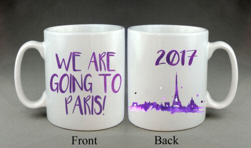Mug Travel London New York Rome Paris Istanbul Disney Holiday Gift Present