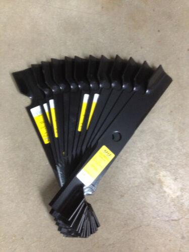 """Exmark blades set of 15 for 52/"""" decks 15//16/"""" center hole replaces 103-6402"""